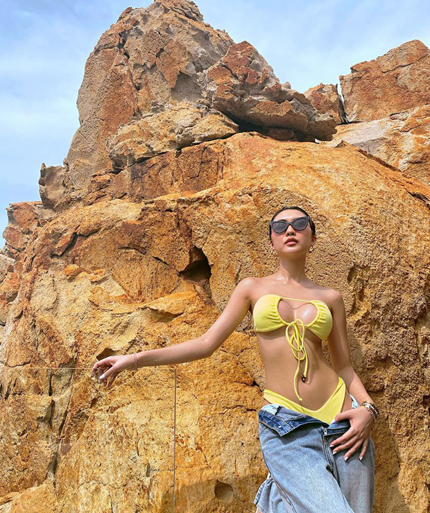 Bức ảnh mới nhất của Hoa hậu Tường Linh.