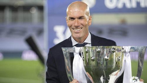 Zidane được bình chọn là HLV xuất sắc nhất thế giới.
