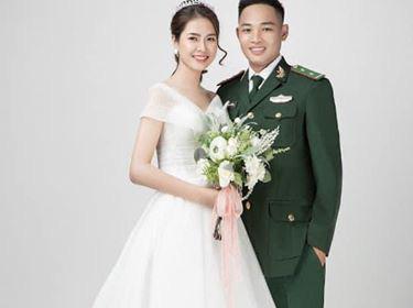 Hà Tĩnh: Cô dâu xinh như mộng hoãn cưới để chú rể đi chống dịch nói gì - Ảnh 3.