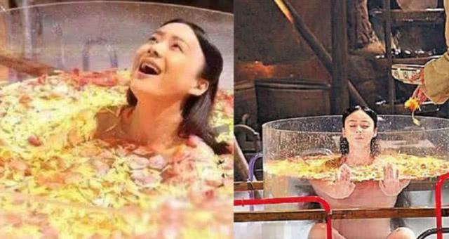 """Cảnh mỹ nhân """"tắm tiên"""" trong phim cổ trang Trung Quốc lộ sạn """"siêu to khổng lồ"""", lừa khán giả  - Ảnh 5."""