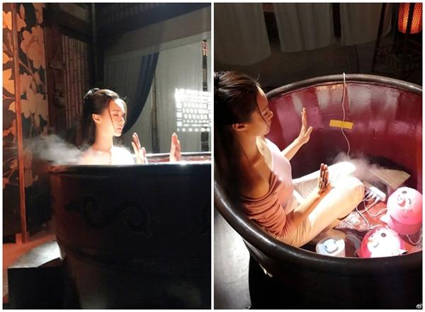 """Cảnh mỹ nhân """"tắm tiên"""" trong phim cổ trang Trung Quốc lộ sạn """"siêu to khổng lồ"""", lừa khán giả  - Ảnh 13."""