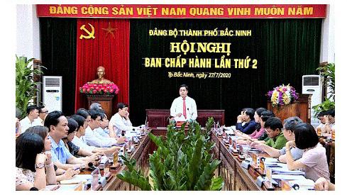 Nhìn lại 13 ngày ông Nguyễn Nhân Chinh được chỉ định làm Bí thư Thành ủy thành phố Bắc Ninh - Ảnh 2.