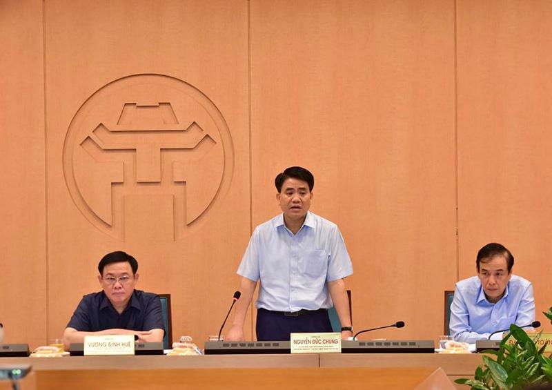 Chủ tịch Hà Nội Nguyễn Đức Chung lên tiếng về việc sử dụng test nhanh Covid-19 - Ảnh 1.