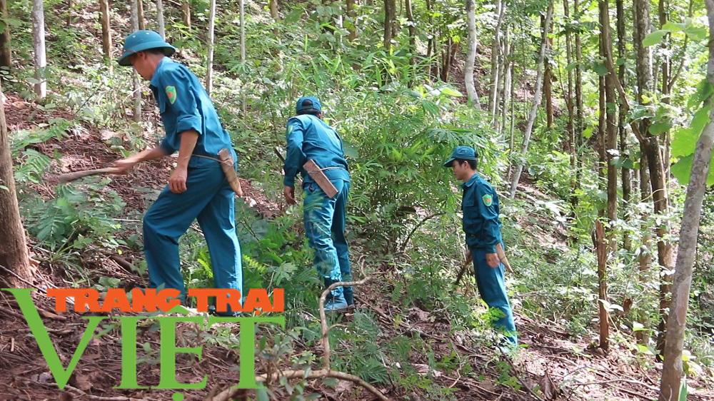 Hạt Kiểm lâm Yên Châu với công tác tuần tra bảo vệ rừng - Ảnh 2.