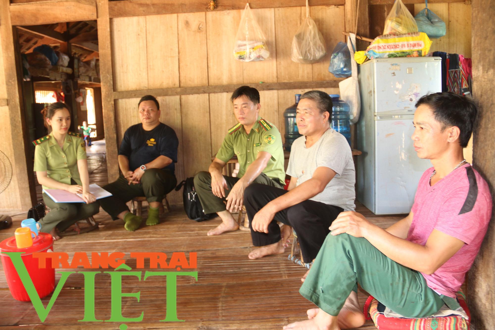 Hạt Kiểm lâm Yên Châu với công tác tuần tra bảo vệ rừng - Ảnh 4.