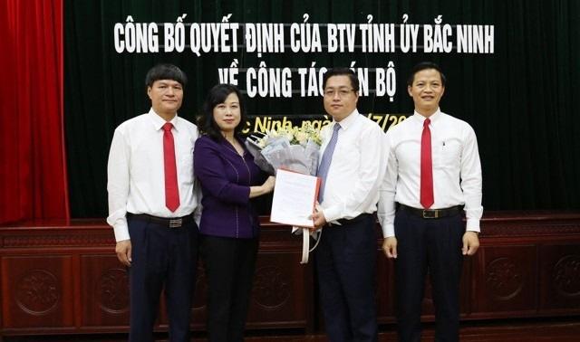 Nhìn lại 13 ngày ông Nguyễn Nhân Chinh được chỉ định làm Bí thư Thành ủy thành phố Bắc Ninh - Ảnh 1.