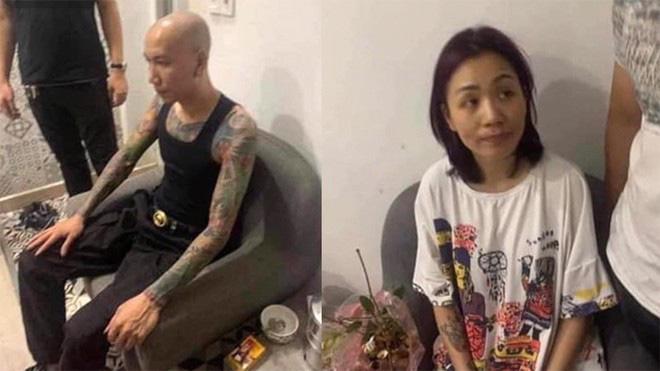 Vợ chồng ca sĩ Phú Lê bị cơ quan công an bắt giữ - Ảnh 1.
