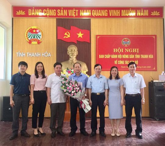 Thanh Hóa có tân Phó Chủ tịch Hội Nông dân tỉnh - Ảnh 1.