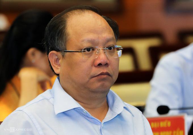 Sai phạm ở dự án Thủ Thiêm, ông Tất Thành Cang bị phê bình  - Ảnh 1.