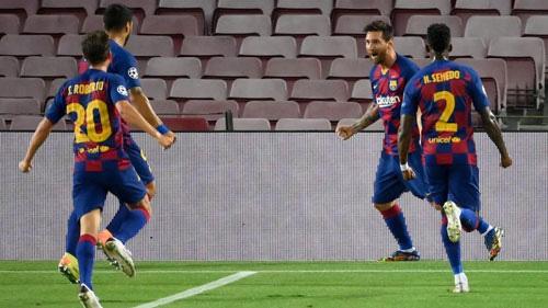 Barcelona lập kỉ lục ở Champions League.