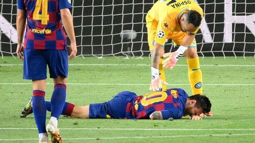 Chấn thương của Messi không nghiêm trọng.