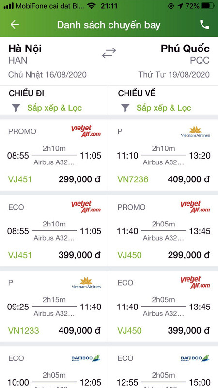 Vắng khách thừa ghế, giá vé máy bay lại rẻ bèo - Ảnh 2.
