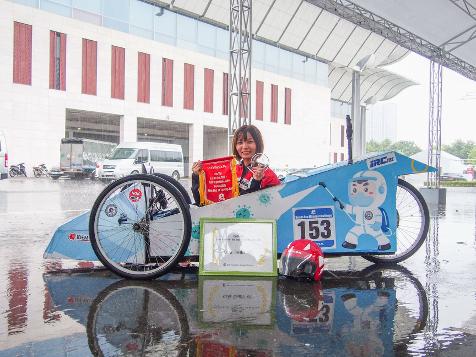 Xe tự chế EAUT giật Giải Thiết kế Cuộc thi Lái xe Sinh thái – Tiết kiệm nhiên liệu Honda 2020 - Ảnh 7.