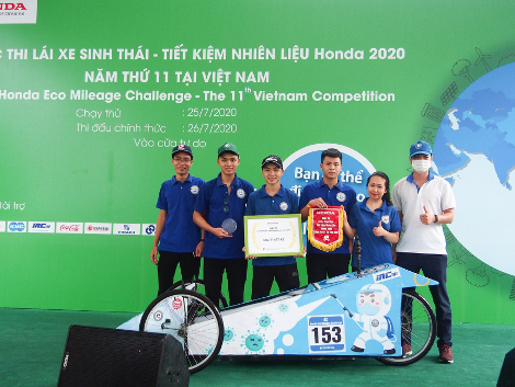 Xe tự chế EAUT giật Giải Thiết kế Cuộc thi Lái xe Sinh thái – Tiết kiệm nhiên liệu Honda 2020 - Ảnh 6.
