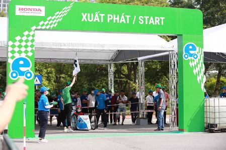 Xe tự chế EAUT giật Giải Thiết kế Cuộc thi Lái xe Sinh thái – Tiết kiệm nhiên liệu Honda 2020 - Ảnh 5.
