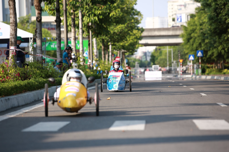 Xe tự chế EAUT giật Giải Thiết kế Cuộc thi Lái xe Sinh thái – Tiết kiệm nhiên liệu Honda 2020 - Ảnh 4.