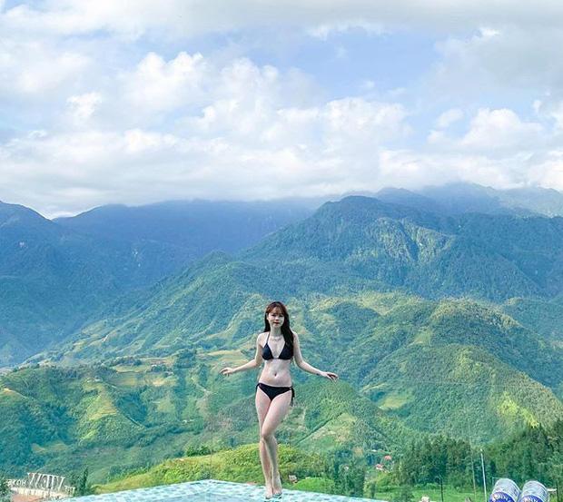 Bạn gái Quang Hải bất ngờ diện bikini sexy, khoe body nóng bỏng - Ảnh 1.