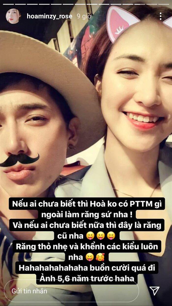 """Hòa Minzy tung bằng chứng phản bác tin đồn bị tố """"dao kéo"""" - Ảnh 1."""