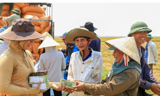 Gạo hữu cơ 'vô cùng sạch' của Quảng Trị bước ra thị trường - Ảnh 4.