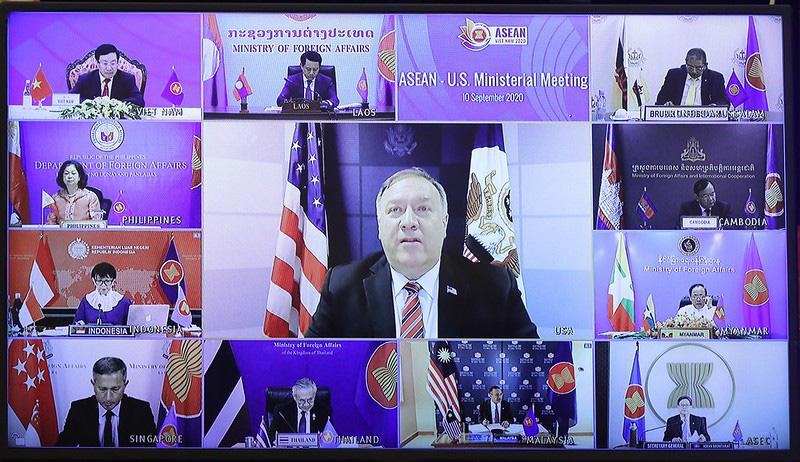 Hoa Kỳ khuyến khích ASEAN duy trì quan điểm chung về Biển Đông trên cơ sở luật pháp quốc tế - Ảnh 3.
