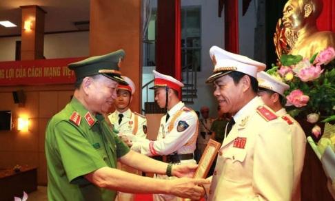 Giam đốc Cong An Nghệ An Vo Trọng Hải được Thăng Cấp Ham Thiếu Tướng