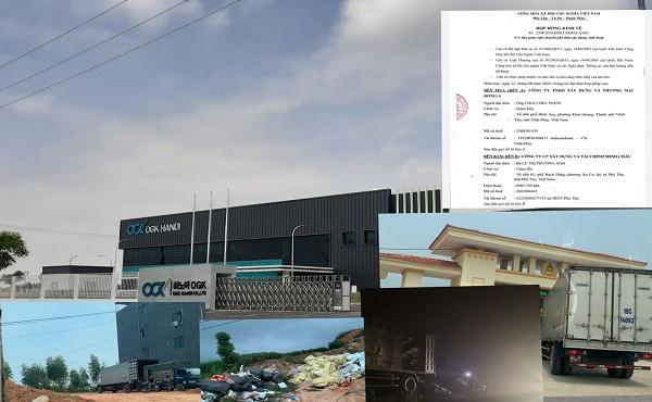 Vụ rác thải nguy hại trong KCN Phú Hà xả ra môi trường: 6 ngày 300m3 rác được đưa ra ngoài - Ảnh 1.