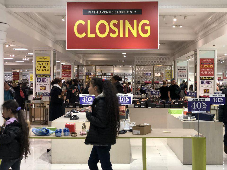 Nỗi đau phá sản của các tập đoàn bán lẻ tăng vì hàng tồn chất đống mà người dân không mua - Ảnh 1.