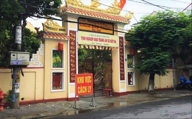 Quảng Nam: Hai sư cô chùa Bảo Thắng tái dương tính với SARS-CoV-2 - Ảnh 1.