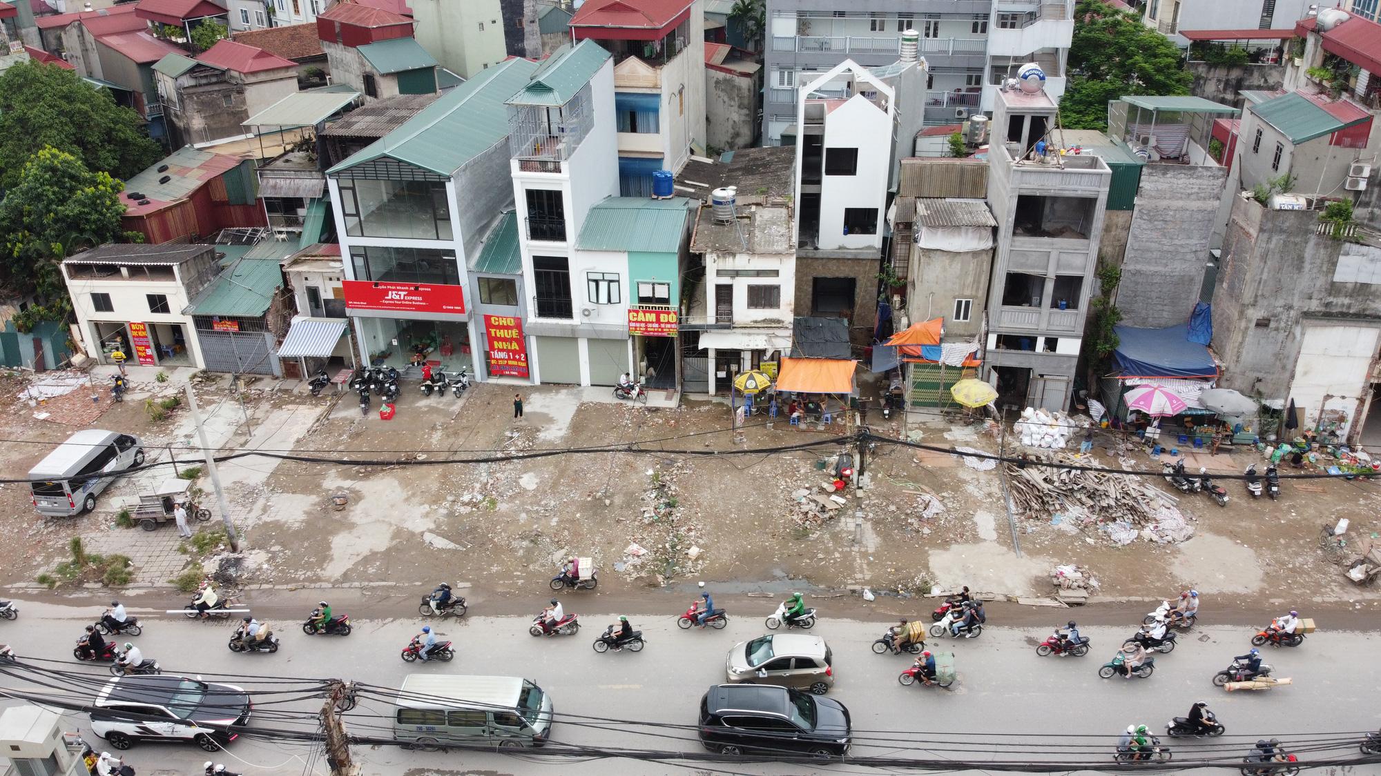 """Đường vành đai 2 mở rộng: Giá đất mặt phố """"leo thang"""" từng ngày - Ảnh 4."""