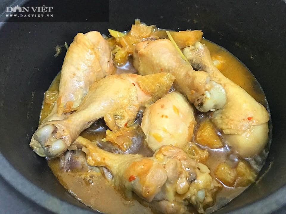 Đùi gà sốt cam hầm nước dừa - Ảnh 2.