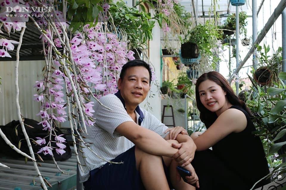 """Thái Bình: Ông chủ vườn lan đột biến """"khủng"""" treo đầy hàng rào, nhiều chậu tiền tỉ nhìn phát thèm - Ảnh 9."""