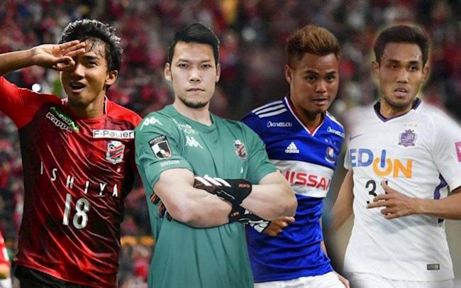 4 tuyển thủ Thái Lan bước vào thời kỳ u ám tại Nhật Bản - Ảnh 1.
