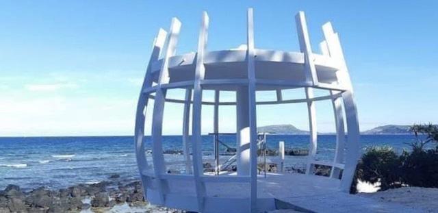 Quảng Ngãi: Lùm xùm việc xây điểm dừng chân cho khách ở đảo thiên đường du lịch  - Ảnh 1.