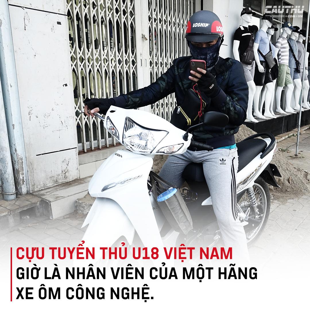 """Tuyển thủ U18 Việt Nam Phan Bá Hoàng: Mẹ, bóng đá & nước mắt của Hoàng """"shipper"""" - Ảnh 3."""