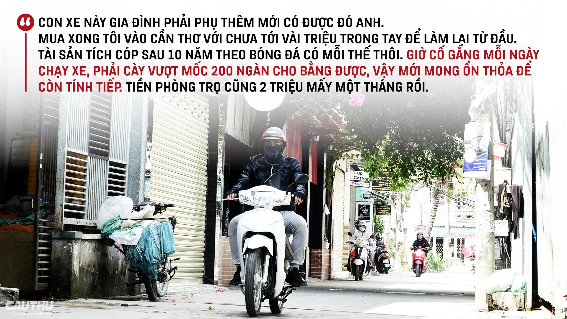 """Tuyển thủ U18 Việt Nam Phan Bá Hoàng: Mẹ, bóng đá & nước mắt của Hoàng """"shipper"""" - Ảnh 4."""