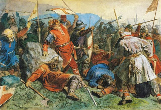 Những loại vũ khí bất ly thân của người Viking - Ảnh 3.