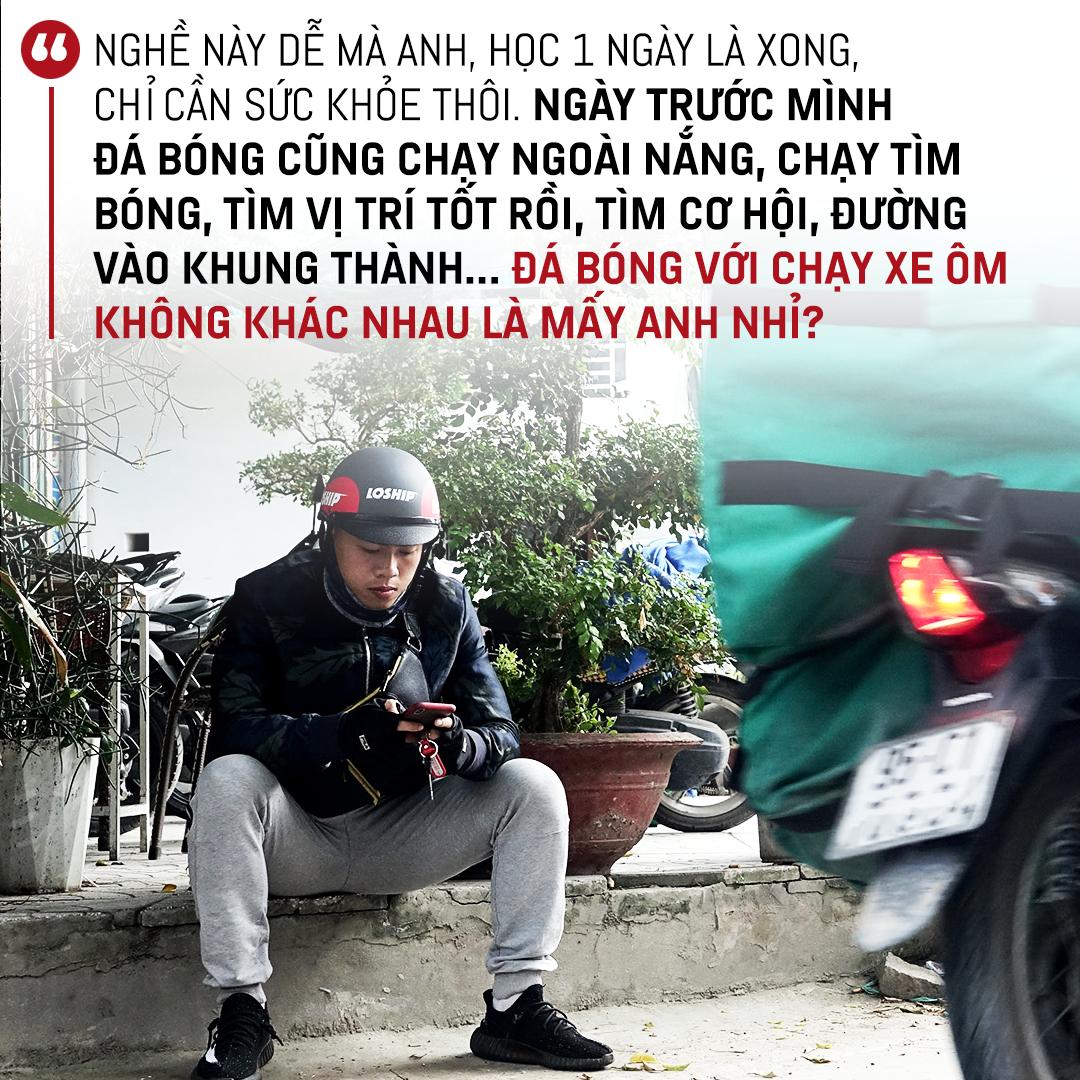 """Tuyển thủ U18 Việt Nam Phan Bá Hoàng: Mẹ, bóng đá & nước mắt của Hoàng """"shipper"""" - Ảnh 5."""