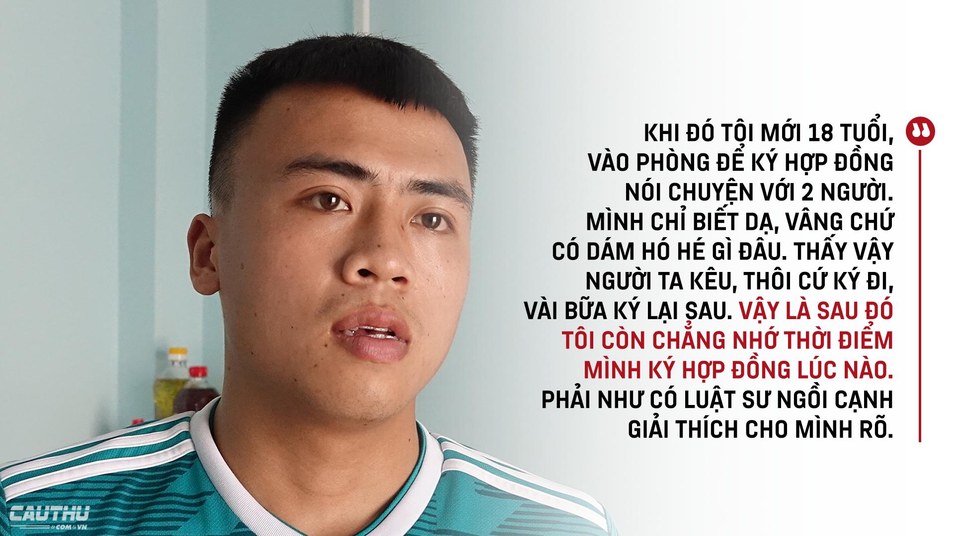 """Tuyển thủ U18 Việt Nam Phan Bá Hoàng: Mẹ, bóng đá & nước mắt của Hoàng """"shipper"""" - Ảnh 11."""