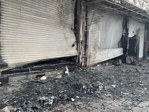 TPHCM: Bắt thủ phạm gây cháy chi nhánh ngân hàng Eximbank - Ảnh 2.