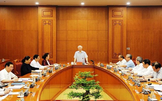 Sắp công bố dự thảo Văn kiện trình Đại hội Đảng XIII lấy ý kiến Nhân dân - Ảnh 1.