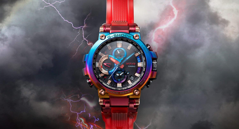 Casio ra mắt đồng hồ G-Shock cổ điển lấy cảm hứng từ tia sét núi lửa - Ảnh 1.