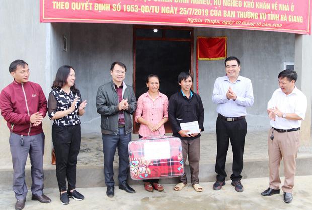 Hà Giang: Xây dựng 3.336 nhà cho gia đình chính sách, người có công, hộ nghèo - Ảnh 1.