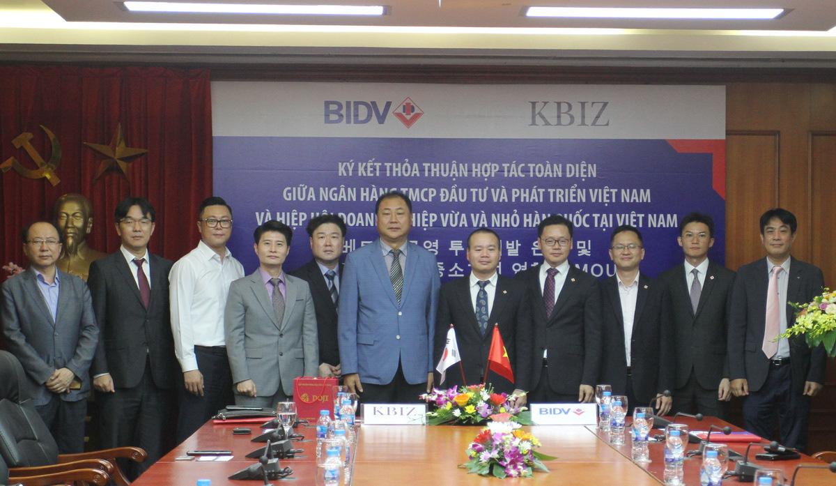BIDV hợp tác toàn diện với KBIZ-VN - Ảnh 1.