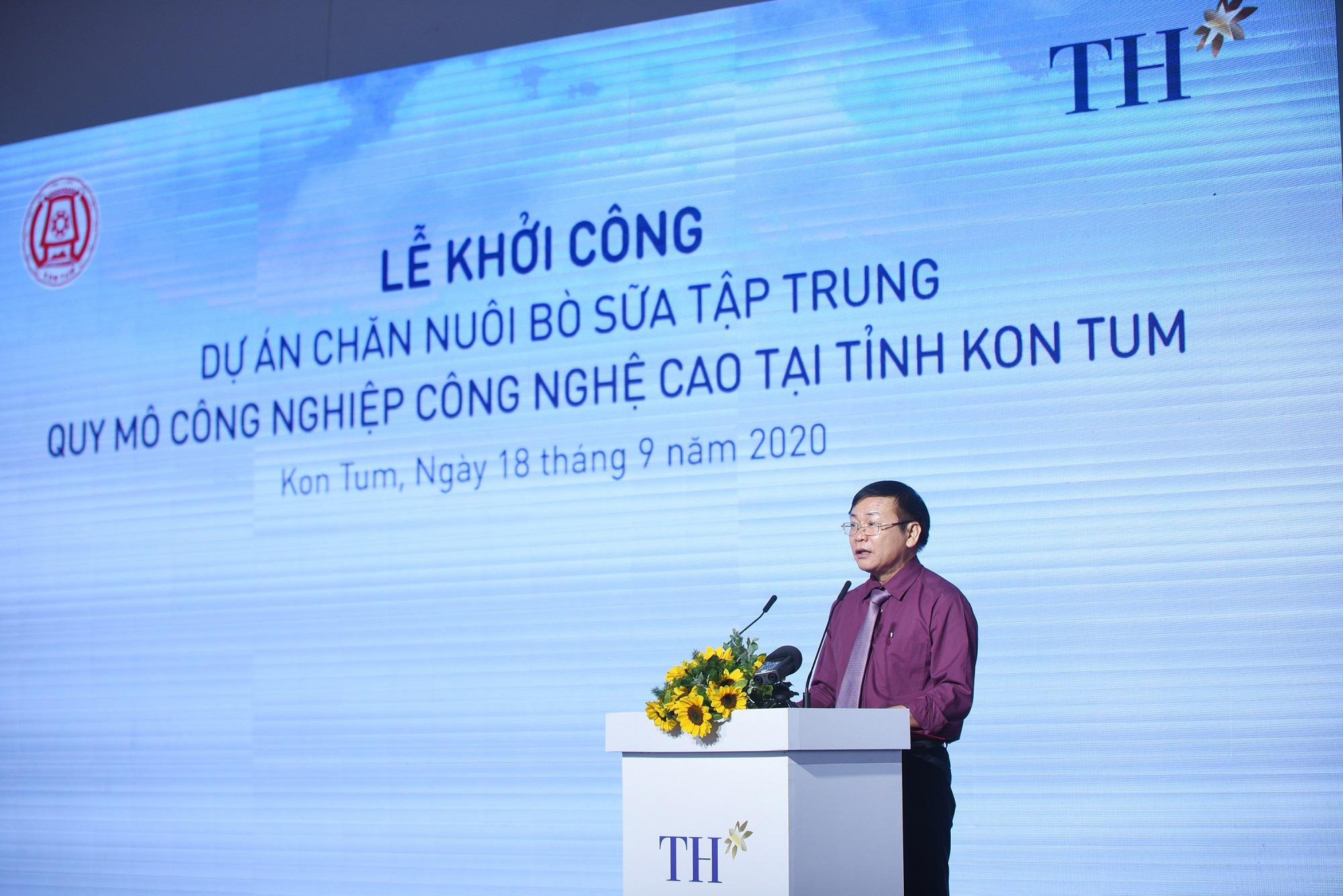 Kon Tum: Khởi công dự án nuôi bò sữa công nghệ cao quy mô lớn nhất Tây Nguyên - Ảnh 4.