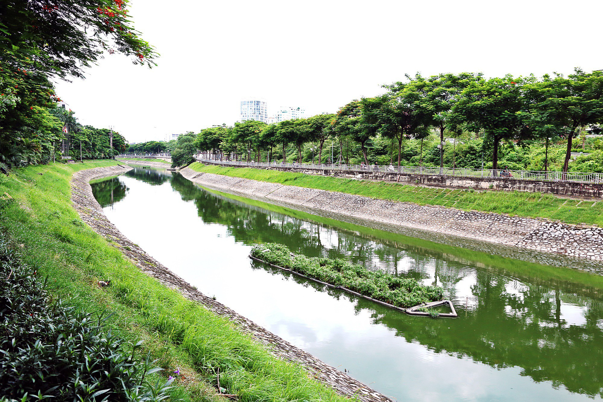 Đề xuất cải tạo sông Tô Lịch thành công viên lịch sử - văn hóa - tâm linh: Chuyên gia nói gì? - Ảnh 1.