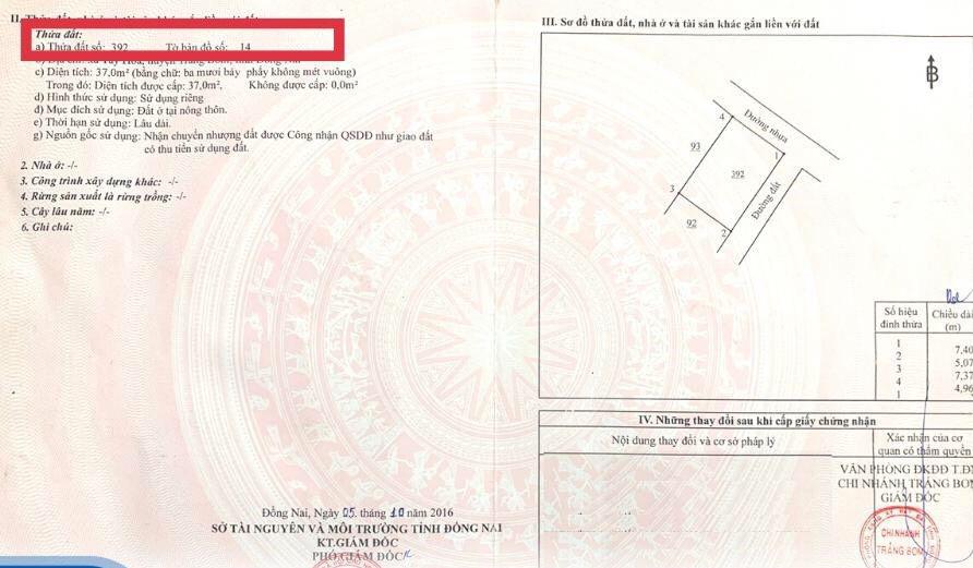 Hướng dẫn tra thông tin trên sổ đỏ, sổ hồng - Ảnh 1.
