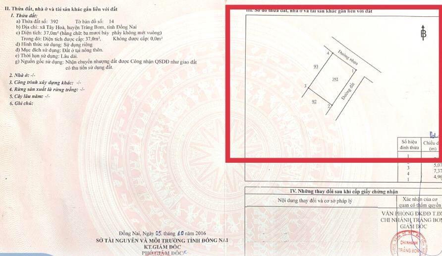 Hướng dẫn tra thông tin trên sổ đỏ, sổ hồng - Ảnh 3.