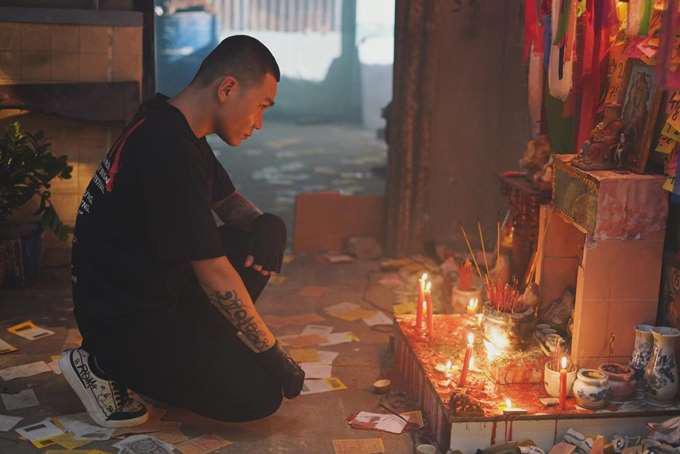 """Rapper Wowy và đạo diễn phim """"Ròm"""" giao lưu với khán giả tối 19/9 tại Hà Nội - Ảnh 5."""