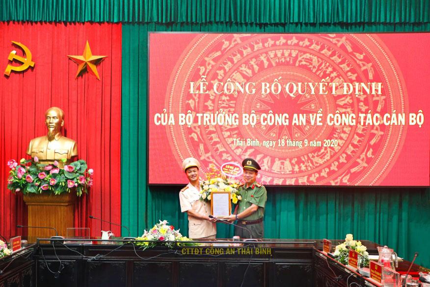 Phó Giám đốc Công an tỉnh Thái Bình vừa được bổ nhiệm là ai? - Ảnh 1.