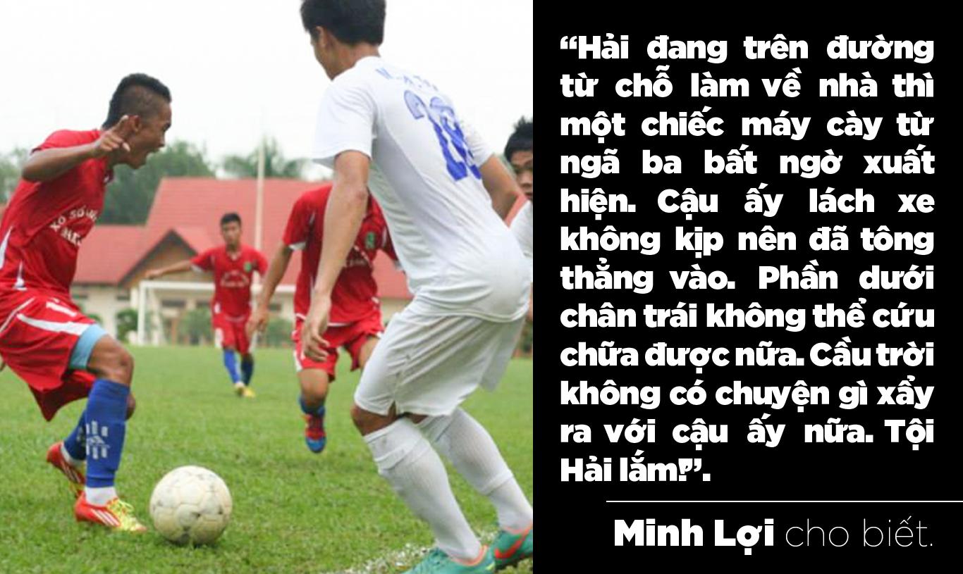 Cựu đội trưởng Đắk Lắk phải cưa chân vì tai nạn: Nước mắt và nỗi đau thấu trời - Ảnh 3.